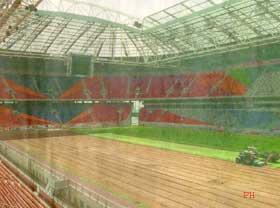 Van Marwijk: 'Grasmat Arena beter dan ooit'