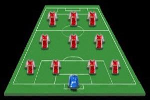 Opstellingen APOEL Nicosia – Ajax, Schöne in de basis