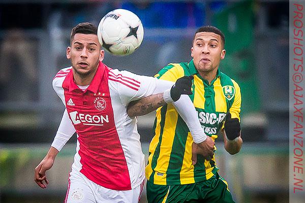 Ajax laat kans op koppositie liggen na 1-1 tegen Ado
