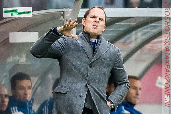 De Boer wil einde van bestuurlijke onrust binnen Ajax