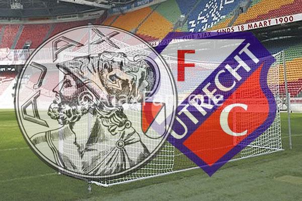 Ajax en FC Utrecht in gesprek over toelating uitsupporters