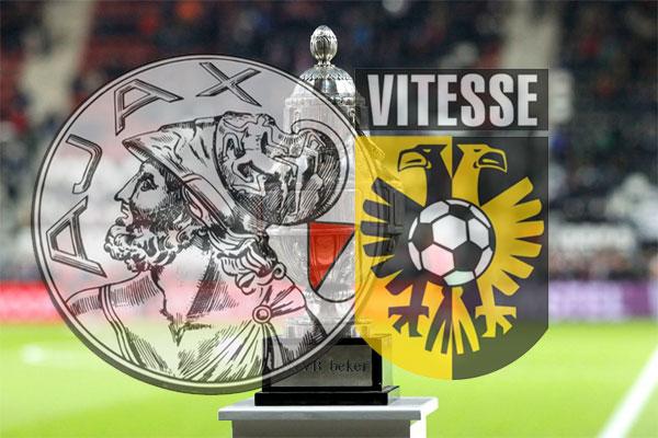 Bekerfinale Ajax - Vitesse definitief zonder publiek