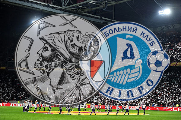 Ajax treft Dnjepr Dnjepropetrovsk in achtste finale Europa League