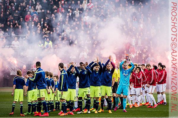 PVDA gaat kamervragen stellen omtrent weren Ajax-supporters in Utrecht