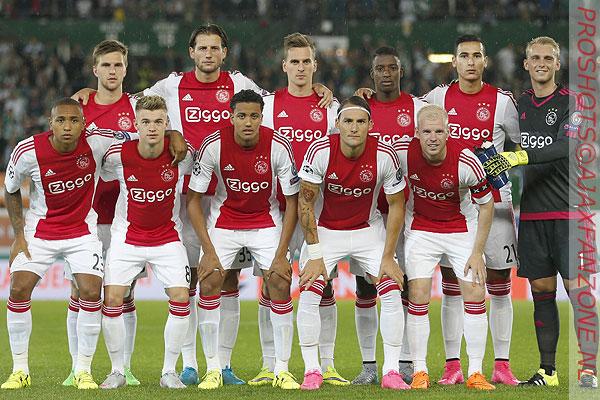 Fotoverslag Rapid Wien - Ajax