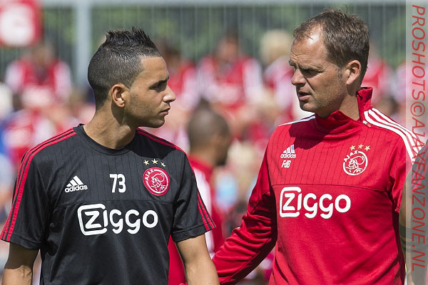El Azzouzi wil zondag winnen van Ajax: 'Ajax-supporters kotsen mij dan uit maar dat hoort erbij'