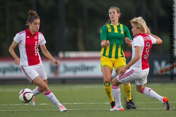Ajaxvrouwen-Ado den Haag 0-0 11-09-2015-39