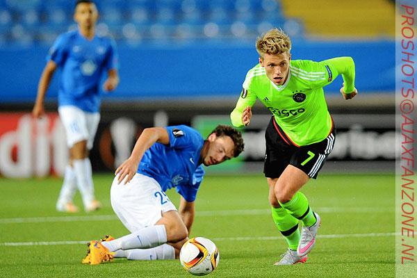 Fischer en Andersen scoren voor Denemarken onder 21; Cerny trefzeker voor Tsjechië