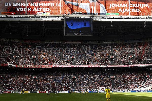 Inmiddels 58.000 handtekeningen voor Johan Cruijff stadion