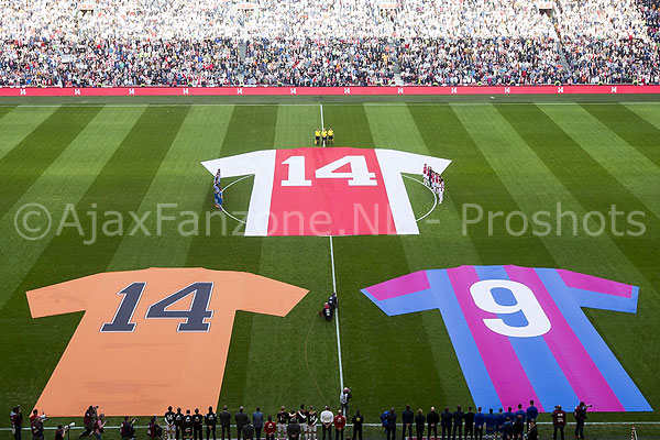 Catalaanse voetbalbond wil Cruijff eren met wedstrijd tegen Ajax