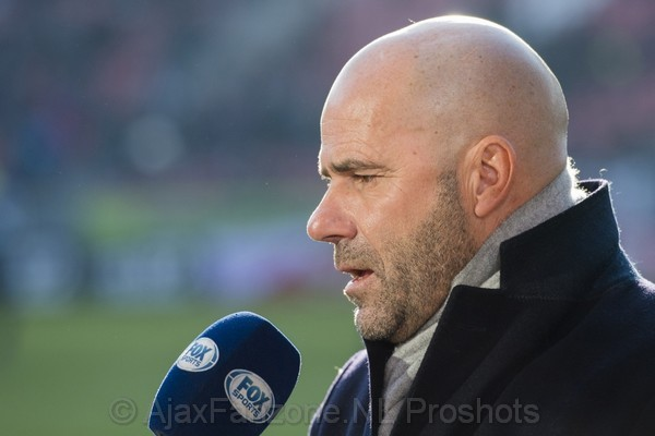 Bosz: 'Uiteindelijk zie ik Ajax kampioen worden'