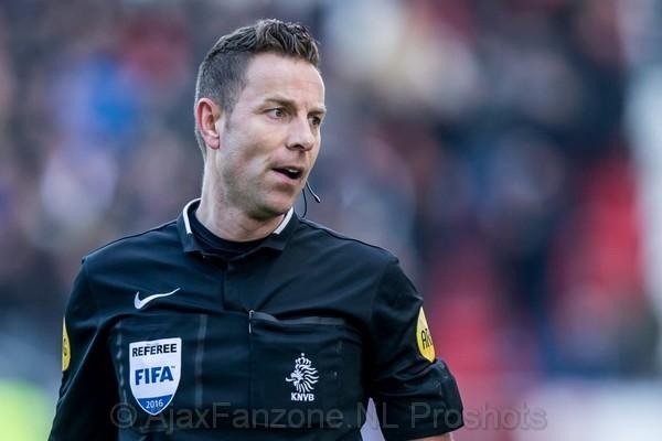 Lindhout fluit Ajax - FC Utrecht, Van Boekel mogelijk kampioensduel Ajax - AZ