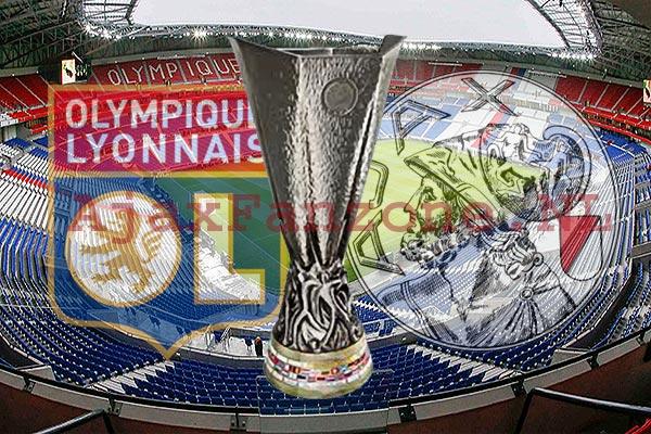 Kaartverkoop Olympique Lyon - Ajax, 2800 kaarten beschikbaar