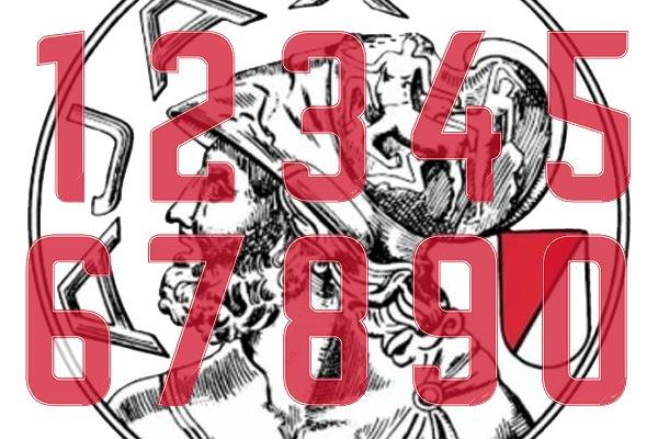Ajax maakt rugnummers officieel bekend