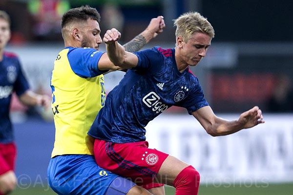 Jong Ajax wint uitwedstrijd tegen Cambuur met 1-2 (Incl. foto's)