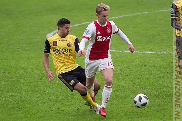 VI: Serieuze interesse van vijf internationale topclubs voor Frenkie de Jong