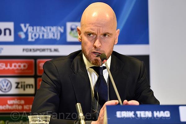 'Vanmiddag besloten persmoment bij Ajax'