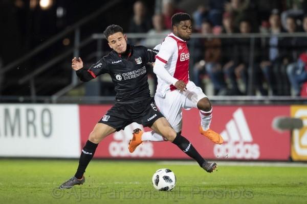 Jong Ajax wint ook in tweede instantie van NEC en is koploper Jupiler League