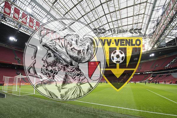 Opstellingen Ajax - VVV Venlo