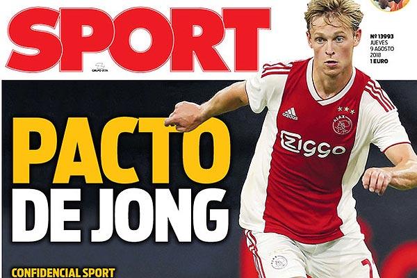De Jong hakt binnenkort knoop door, PSG nog steeds op pole-position