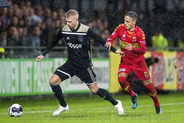 Jong Ajax verliest met 2-1 van Go Ahead Eagles