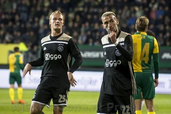 Ajax met moeite langs stug Fortuna Sittard: 0-2