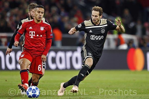 Ajax-supporters toegestaan bij oefenwedstrijd FC Bayern München - Ajax