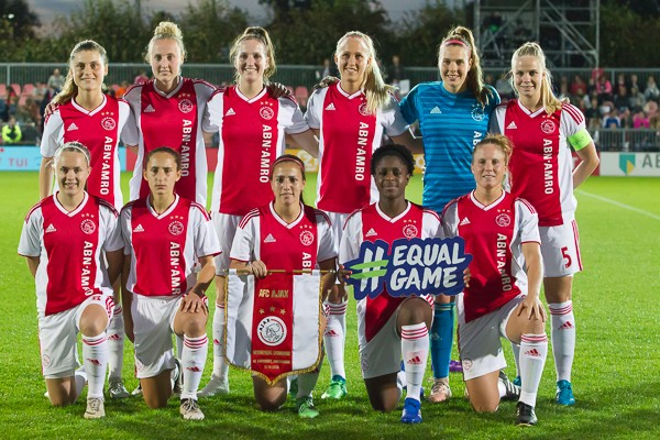 Ajax Vrouwen fors onderuit in return tegen Olympique Lyon
