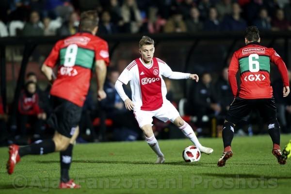 Jong Ajax ruim langs NEC: 4-0