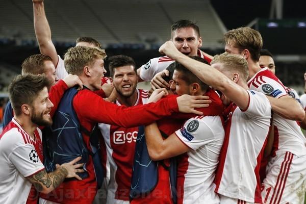 Fotoverslag AEK Athene - Ajax