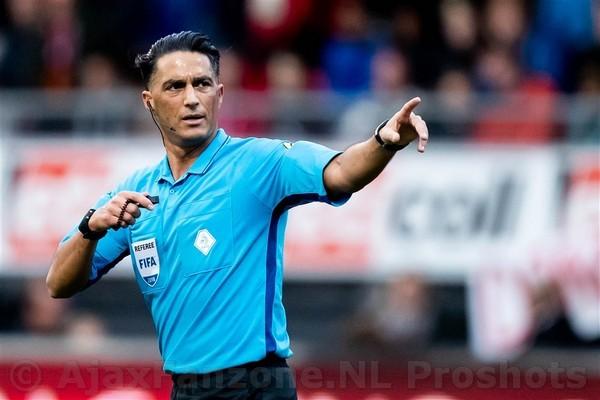 Gözübüyük fluit bekerfinale tussen Ajax en Willem II