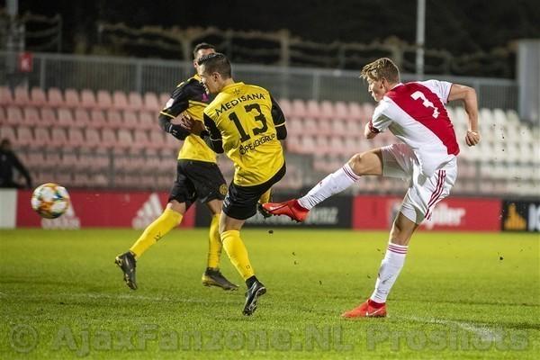 Jong Ajax ruim langs Roda JC: 5-1