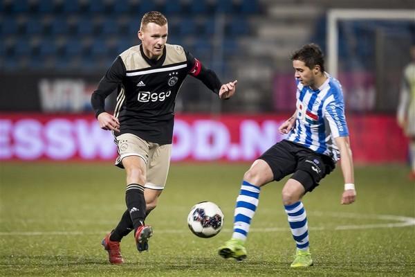 Jong Ajax in slotfase naast FC Eindhoven: 1-1