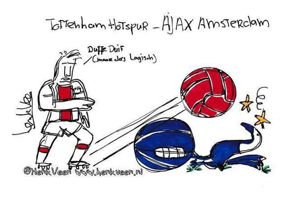 Gametalk Tottenham Hotspur – Ajax: Volg de wedstrijd via ons Twitter account en/of praat mee en win!