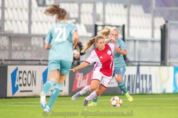 Ajax Vrouwen met 2-1 te sterk voor FC Twente