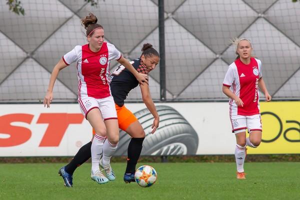 Ajax Vrouwen kansloos onderuit in eigen huis tegen PSV (Incl foto's)