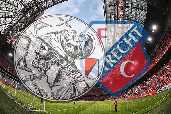 Ajax - FC Utrecht op 22 april, Ajax - AZ van zaterdag naar zondag