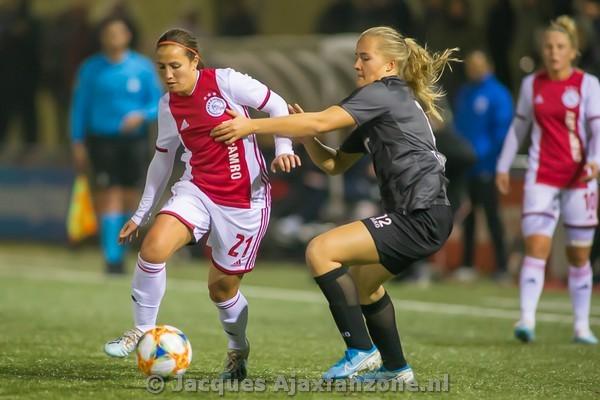 Ajax Vrouwen met 4-0 te sterk voor VV Alkmaar (Incl foto's)