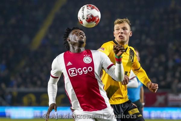 Jong Ajax wint uitwedstrijd tegen NAC Breda: 1-2