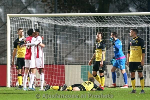 Jong Ajax met 2-0 te sterk voor Roda JC
