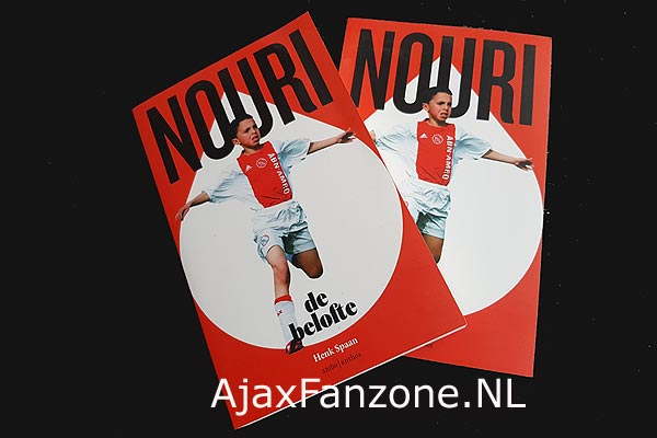 20 jaar AjaxFanzone.NL: Uitslag prijsvraag boek Abdelhak Nouri