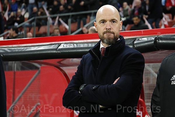 Ajax en Ten Hag verlengen contract tot medio 2023