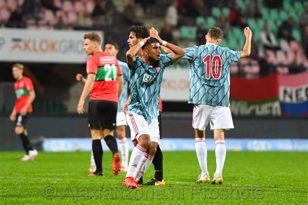 Jong Ajax verliest uitduel tegen NEC: 2-1