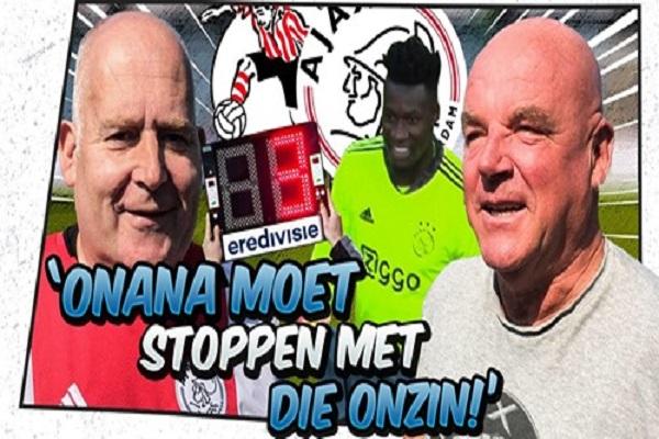Video: Kale en Kokkie worden nog niet heel blij van Ajax