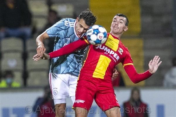 Jong Ajax wint uitduel tegen Go Ahead Eagles: 0-3