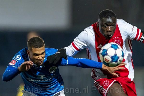 Jong Ajax geeft voorsprong weg tegen FC Den Bosch: 2-2