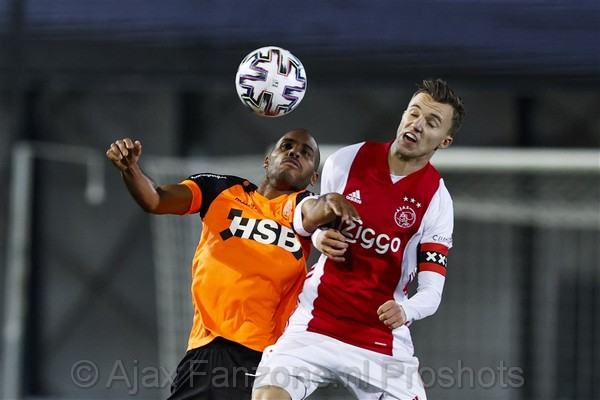 Jong Ajax en FC Volendam delen de punten: 1-1