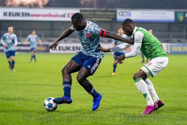 Jong Ajax verliest van FC Dordrecht: 3-1