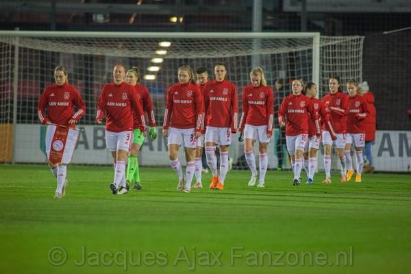 Ajax Vrouwen uitgeschakeld in Champions League