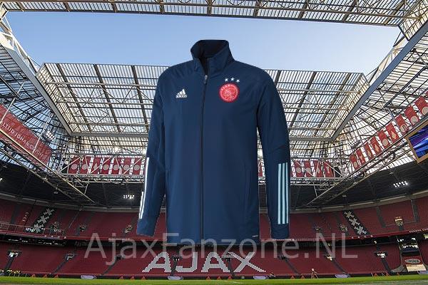 Uitslag prijsvraag: Wie wint er deze keer zo'n schitterend Ajax-trainingsjack?